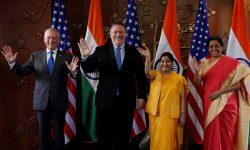 যুক্তরাষ্ট্র সামরিক চুক্তি করে ভারতের ক্ষমতা বাড়াল