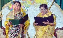 এমপি হিসেবে শপথ নিলেন সৈয়দা জাকিয়া নুর