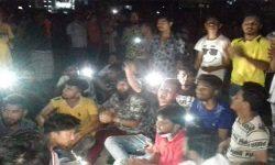 টঙ্গীতে মহাসড়ক অবরোধ করলো পদ বঞ্চিত আওয়ামী লীগ কর্মীরা