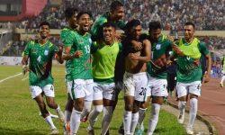 বাংলাদেশ ফুটবলে নেপালকে হারালো